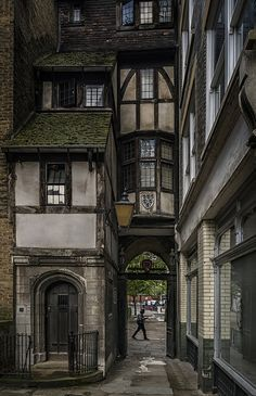 Old London . - Old London architecture design Surrender yours - Old London, London Pubs, London City, London Style, Streets Of London, Old Street London, London Places, City Streets, The Places Youll Go