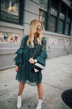 top summer outfits — green and yellow make you cool 23 ~ my. top summer outfits — green and ye. Booties Outfit, Night Outfits, Spring Outfits, Dress Outfits, Polyvore Outfits, Look Fashion, Autumn Fashion, White Ankle Boots, Ankle Booties