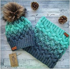 love the colors Beanie Knitting Patterns Free, Loom Knitting, Crochet Patterns, Crochet Shoes, Knit Crochet, Knit Beanie Hat, Scarf Hat, Beanies, Knitted Hats