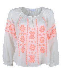 Bluse Embroderie Ula von STAR MELA bei @Tatem#starmela