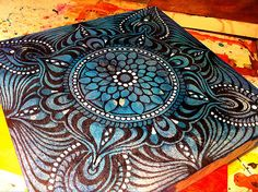 Winter Mandala | white violet art Flickr - Photo Sharing!