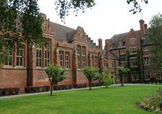 Grade II listed Worksop College, Sparken Hill, Worksop. Nottinghamshire. UK