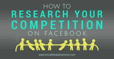 Are your competitors getting massive reach and engagement on Facebook? This article show how to research what your competition on Facebook.