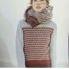Gorgeous new design in Rowan 60 (@hattonknits) always doing beautiful work