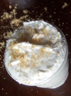 Homemade Moisturizing Body Scrub 1/2 cup Shea Butter 3 TBSP Olive Oil 3 TBSP Coconut Oil (melted, but not hot) 1/2 cup Brown Sugar