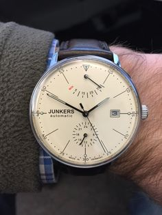 Amazon.com: JUNKERS - Men's Watches - Junkers Bauhaus - Ref. 6060-5: Watches - 500€00