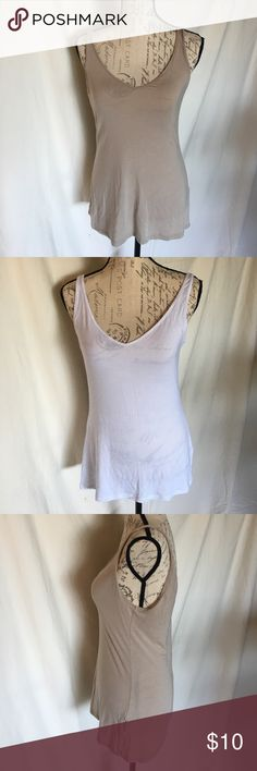 💐SALE💐 2 Old Navy Camisoles Lot of 2. White, beige. In good condition. Lightweight and semi sheer for layering. Old Navy Tops Camisoles