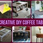 14 Creative DIY Coffee Tables