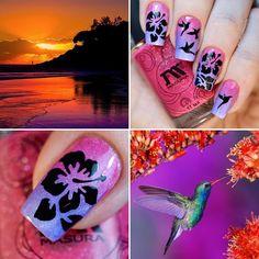 И #лакоколлаж Закат в Гаваях и трафареты 'Hawaii' от @rocknailstar_shop  #трафаретныйэкстаз #rocknailstar #NailStencils Подложка лаки #gradientnails #Масура #masura @masura.ru 'Черничный Сорбет' и 'Ягодный Смузи'  Tutorial is available on my YouTube channel link is in my bio  Полное видео уже доступно на моем Ютюб канале ссылка в профиле  #NailStencils #nailvinyls #тегсообществанейлру #маникюр #маниинста #лакоман #лакосекта  #фотоногтей #ногти #дизайнногтей #весна #девочкитакиедевочки…