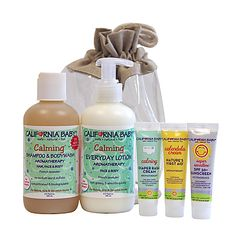 California All-Natural Baby Products.   Calming Lotion is my fav...but all of them are awesome!