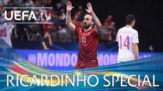 Portugalczyk po raz kolejny zachwycił podczas UEFA Futsal Euro 2016 • Kolejny niesamowity gol Ricardinho • Wejdź i zobacz film >> #football #soccer #sports #pilkanozna