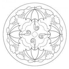 Mandala coloring pages - Mandalas for Kids – Mandala coloring pages Mandalas Drawing, Mandala Coloring Pages, Mandala Painting, Colouring Pages, Coloring Pages For Kids, Coloring Sheets, Coloring Books, Kids Coloring, Cd Crafts