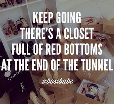 What you know about them Louboutins? #bossbabe