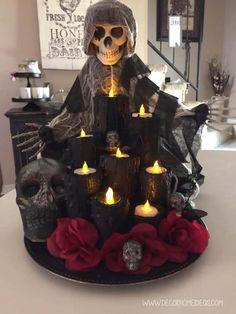 Halloween Birthday, Halloween Party Decor, Halloween Crafts, Halloween Centerpieces, Centerpiece Decorations, Fall Crafts, Halloween Costumes, Outdoor Halloween, Scary Halloween