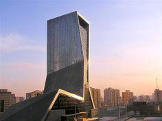El Hotel Mandarin Oriental, situado en el distrito central de negocios de Beijing.
