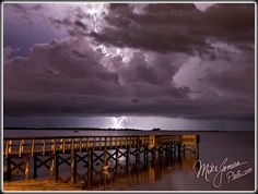 Thunderstorm over Palm Harbor, Florida