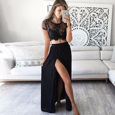 split lace summer beach dress suit Perspective fringe white long dress women Sexy party maxi dresses