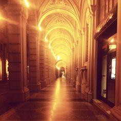Bologna by night, foto di bcami dal CONCORSO I PORTICI DI BOLOGNA