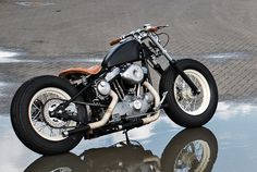 Harley Sportster custom by Boneshaker Choppers
