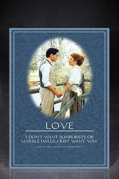 Shop At Sullivan, The Official Online Store for Sullivan Entertainment, featuring Anne of Green Gables, Road to Avonlea, Wind at My Back and other Classic and Family Films! Road To Avonlea, Lm Montgomery, Gilbert And Anne, Anne Shirley, Love Posters, Kindred Spirits, Prince Edward Island, Period Dramas, Great Movies