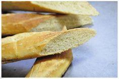 Baguette française. recette facile et inratable.