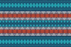 5 Seamless patterns in ethnic style by ViSnezh on Creative Market