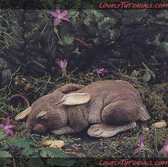 Cottontail rabbit tutorial