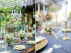 . tablescapes garden