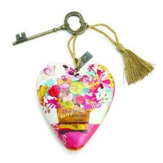 Demdaco 1003480057 Dear Mom Art Heart Sculpture