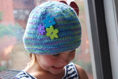 Handmade Hat for a Stylish Girl Size 57 by TheCraftyEuropean, $30.00