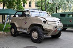 Бронеавтомобиль Торос командирский
