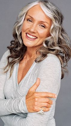 gray+hairstyles+for+women+over+50 | To Gray or Not to Gray? This hair dilemma can be difficult for women ...
