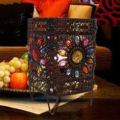 מנורת רטרו מדהים עבודת יד כיכר פרח צד מיטה / לוח – ILS ₪ 189.74