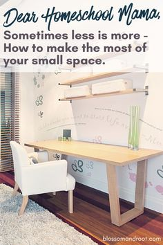 Yes you can still homeschool in a small space! Here are some creative dieas for making the most of the space you have. blossom and root homeschooling, secular homeschooling, nature schooling, nature study, waldorf, charlotte mason, homeschool room #homeschooling #secular #blossomandroot Teaching Science, Teaching Tips, Homeschool High School, Homeschooling, Small Space Living, Small Spaces, Charlotte Mason Curriculum, High School Hacks, Kindergarten Fun