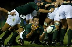 February 7 2017 - One of the finest ever scrum-halves, former Springboks captain Joost van der Westhuizen dies aged just 45