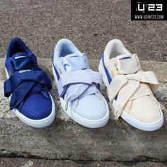 Sneakers Femme - Puma Basket Heart Denim