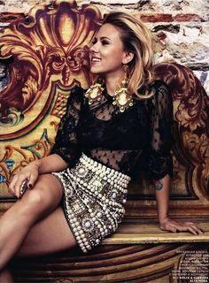 Scarlett Johansson for Vogue
