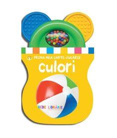 Culori, carte cu jucarie. Bebe invata White Out Tape, Knives