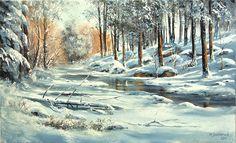 Artista polacco Marek Szczepaniak.Zimnie paesaggi. Discussione sulla LiveInternet - Servizio russo diario online