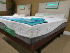 Enso Sleep Systems from Klaussner offered PureGel Plus with poured gel.