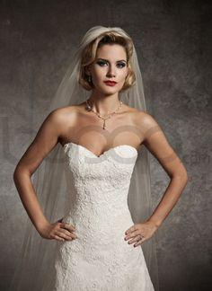 Alencon Lace Wedding Dress