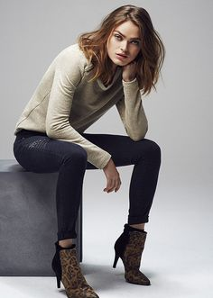 Mode femme IKKS : look hiver #FW14 #ikks