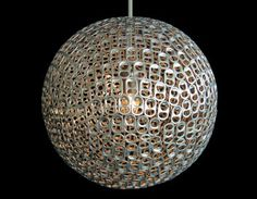 Here is a collection of cool things one can make using 'Soda Can Pull Tabs