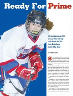 Ready For Prime Time Player Women's Hockey, Prime Time, The Past, Magazine, Life, Magazines, Warehouse, Newspaper