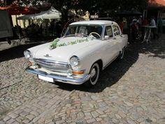 Ganz in Weiss.... Wolga Gaz 21 am 9.9.2012. (Oldtimer auf Schloss Burgk)