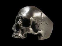 925 Solid Sterling Silver Anatomical Keith Richards by Silveralexa