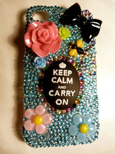 The iPhone case I ordered :) Handmade!