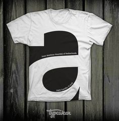 'a' shirt - i want this