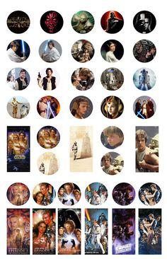 Free Bottle Cap Images: Star Wars - bottle cap and dominoes