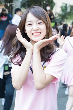 K-Pop Babe Pics – Photos of every single female singer in Korean Pop Music (K-Pop) Jung Chaeyeon, Jung Hyun, Cute Asian Girls, Cute Girls, Pretty Girls, South Korean Girls, Korean Girl Groups, Kim Sejeong, Pre Debut